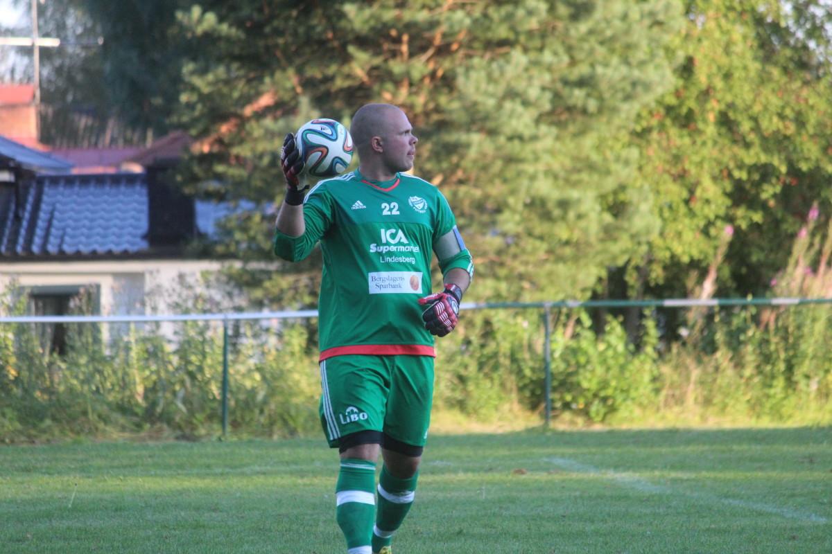 Janne Mäki och IFK Lindesberg är vidare till slutspelet i cupen. ARKIVFOTO: Hannes Feldin