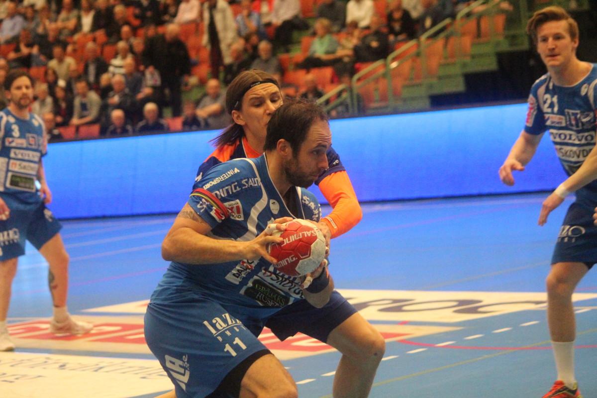 Nederlaget innebär att Jesper Nilssons LIF nu ligger under med 1-2 i kvalet. FOTO: Hannes Feldin
