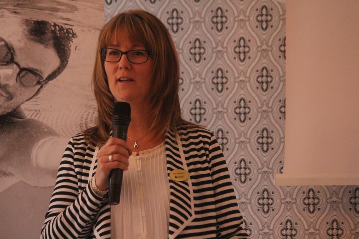 Åsa Viggeborn, integrationskoordinator vid Lindesbergs kommun. Foto: Ida Lindkvist