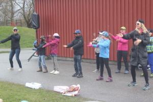Kulturrådet inleder med dans. Foto: Ida Lindkvist