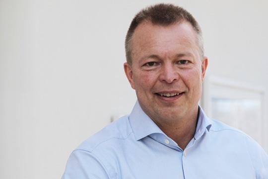 I sommar tillträder Peter Lindgren som ny fabriksdirektör. Pressbild.