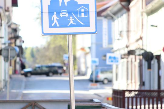 Från och med fredag 29 april råder gångfart för trafik. Arkivfoto: Fredrik Norman