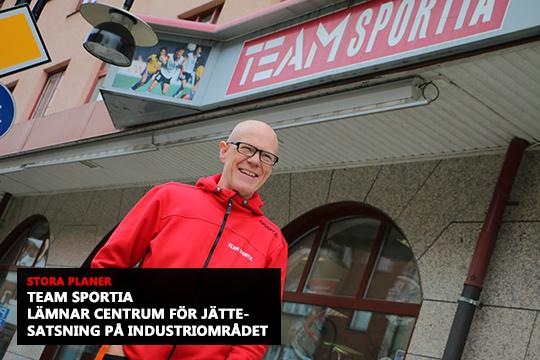 I höst öppnar Micke Nielsen sin nya och större sportbutik. Foto: Fredrik Norman