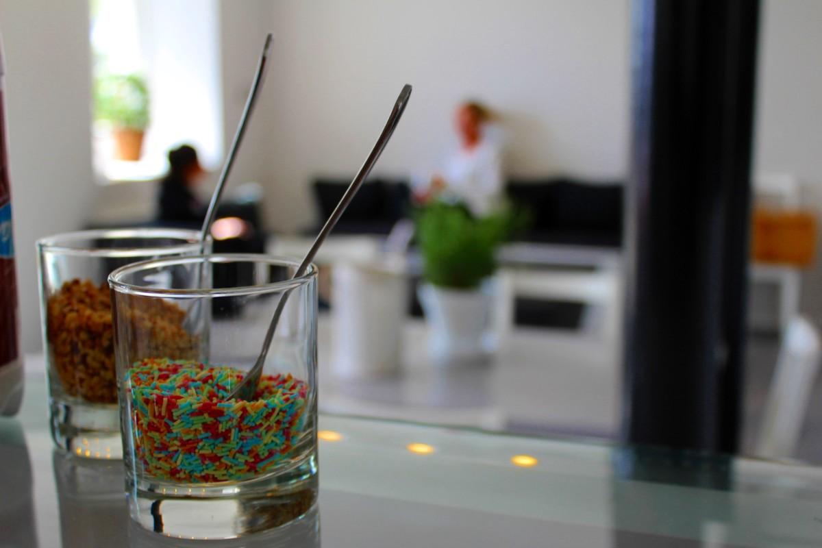 Glass är en av många godsaker som kommer att finnas att välja på hos Café Oscar i sommar. Foto: Ida Lindkvist