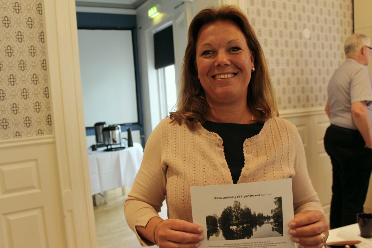 Anne Nyström, initiativstagare till gratis sommarträning. Foto: Ida Lindkvist