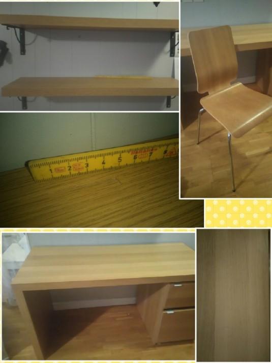 Skrivbord, stol och två hyllor LindeNytt com Senaste nytt från Lindesberg