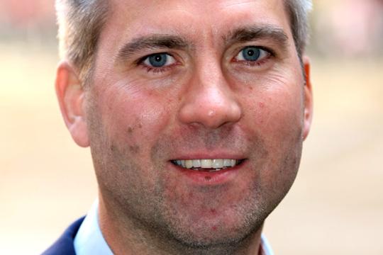 Karl Hulterström, regionchef Svenskt Näringsliv. Pressfoto.