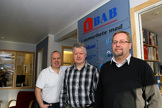MBP Holding AB: Per Eriksson, Mats Eriksson och Bengt-Erik Persson. Arkivfoto: Fredrik Norman