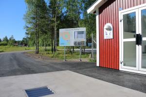 Servicestationen har kostat 235 450:- att köpa och har tagits direkt ur Näringslivsenhetens egen budget 2015. Foto: Fredrik Norman