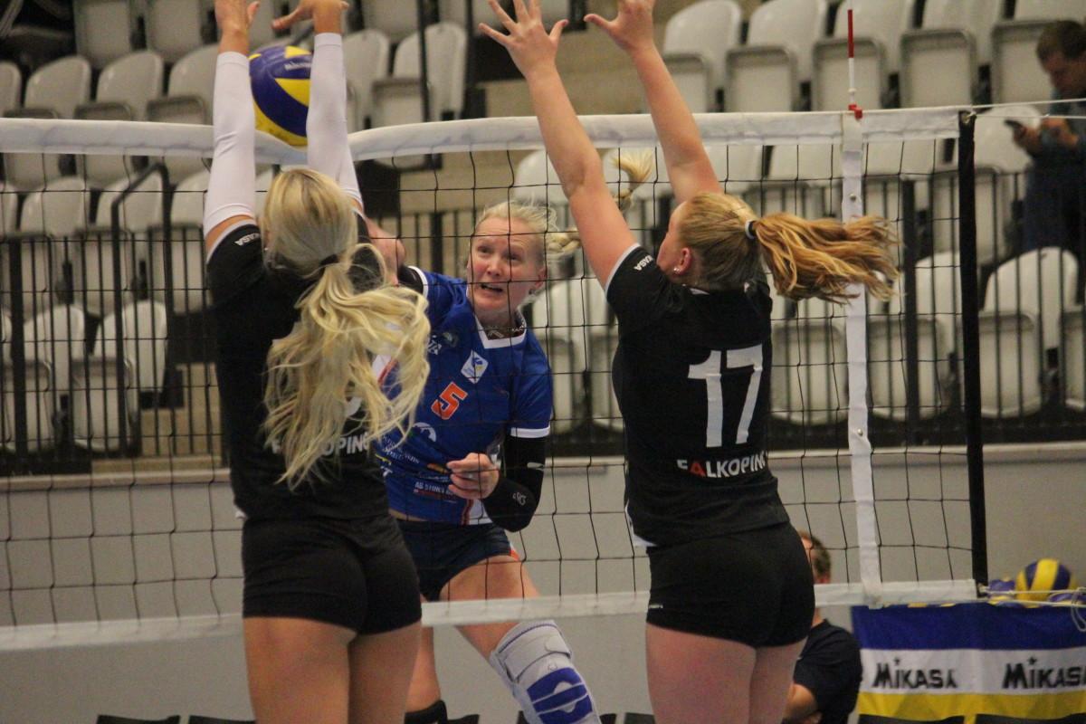 RIG Falköping borta den 8:e oktober blir första steg för Lindesberg Volley. ARKIVFOTO: Hannes Feldin