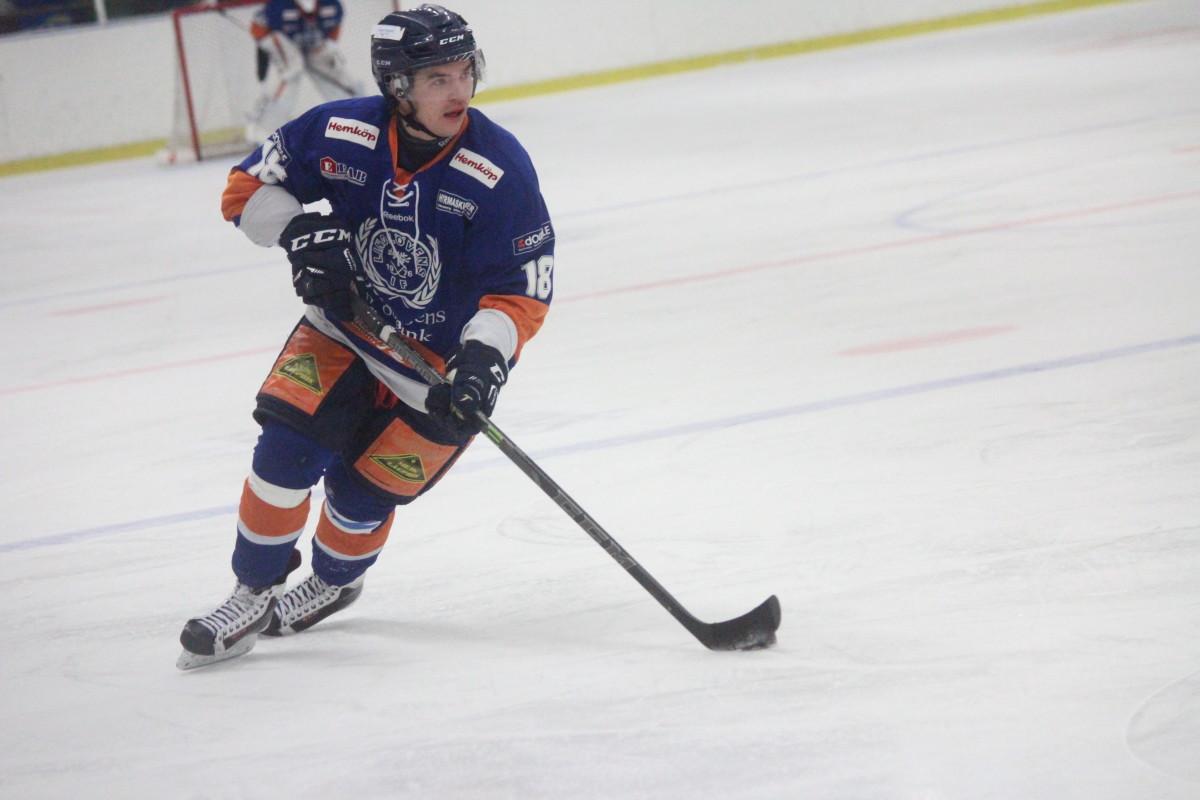Med sin assist låg Anton Tano bakom Lindlövens mål borta mot Västervik. ARKIVFOTO: Hannes Feldin