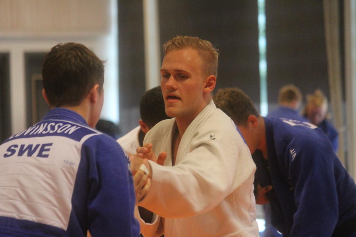 Frövi Judos egna Adrian Gissberg är en av många som deltar i helgens riksrandori. FOTO: Hannes Feldin