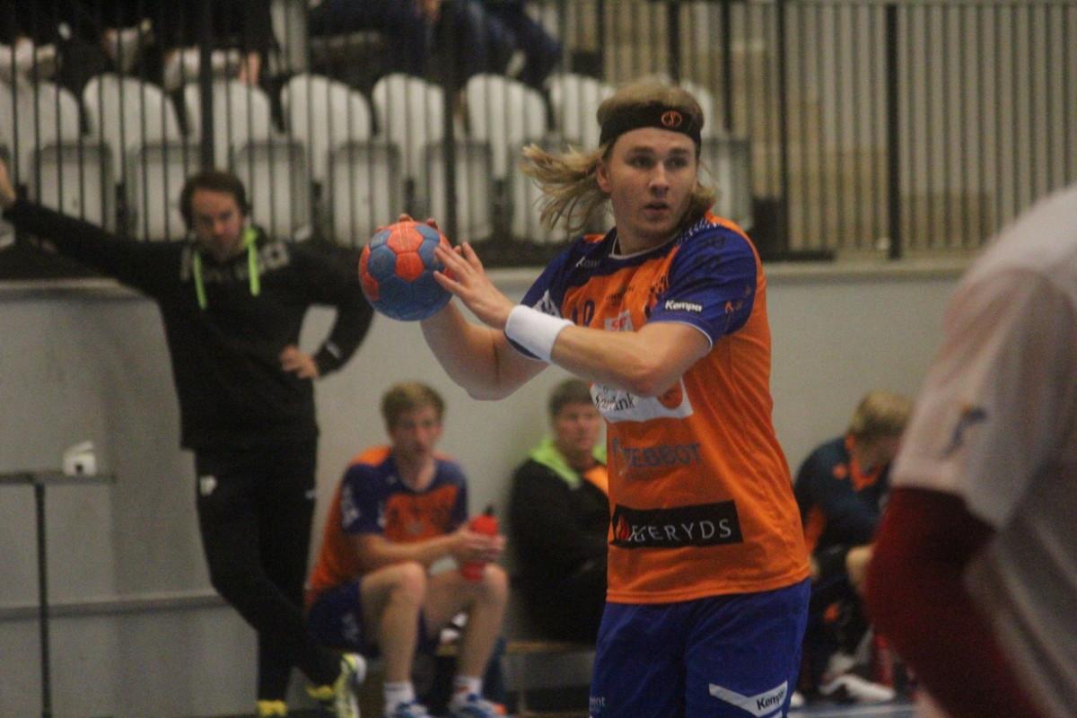 Albin Järlstam fick gott om speltid mot Guif och tackade för chansen med tre mål. ARKIVFOTO: Hannes Feldin