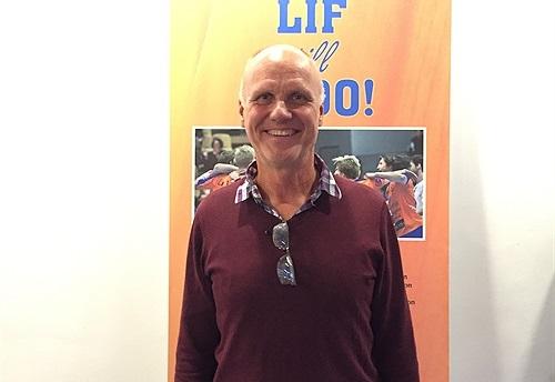 Sören Holm tar över som ordförande i LIF sedan Leif Karlsson tvingats avgå av hälsoskäl. FOTO: LIF Lindesberg