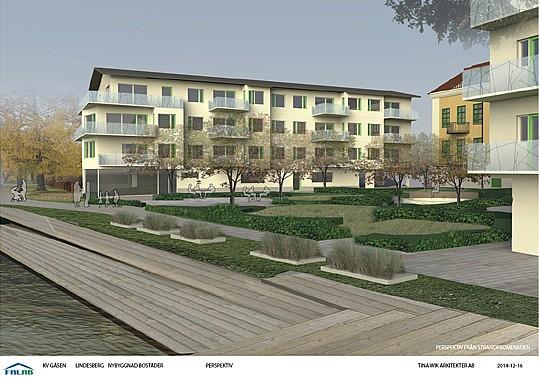De 20 lägenheter som planeras byggas, har stött på motstånd igen.