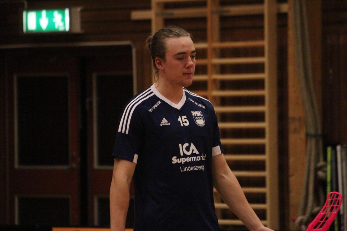 William Svensson är en av många unga killar som ingår i WSK:s A-trupp kommande säsong. ARKIVFOTO: Hannes Feldin