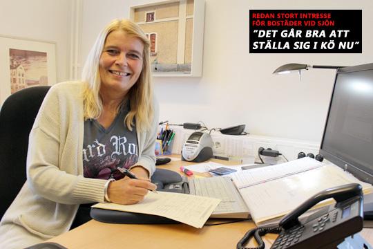 Annelie Bergqvist, bostadsförmedlare på Lindesbergsbostäder, LIBO. Arkivfoto: Hans Andersson / LindeNytt
