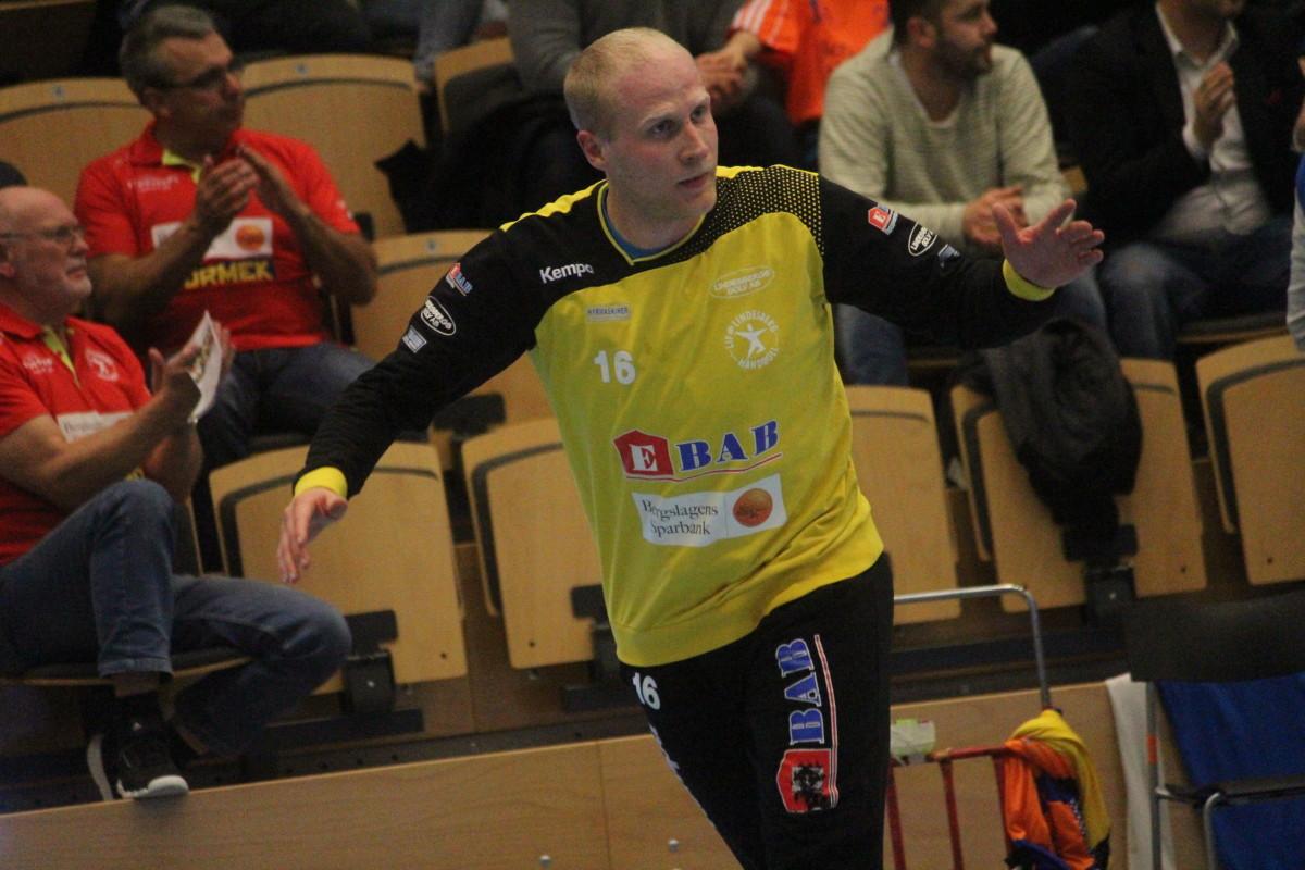 Blir det Sébastien Ehnevid eller Niklas Jansson som vaktar det brandgula målet ikväll? ARKIVFOTO: Hannes Feldin