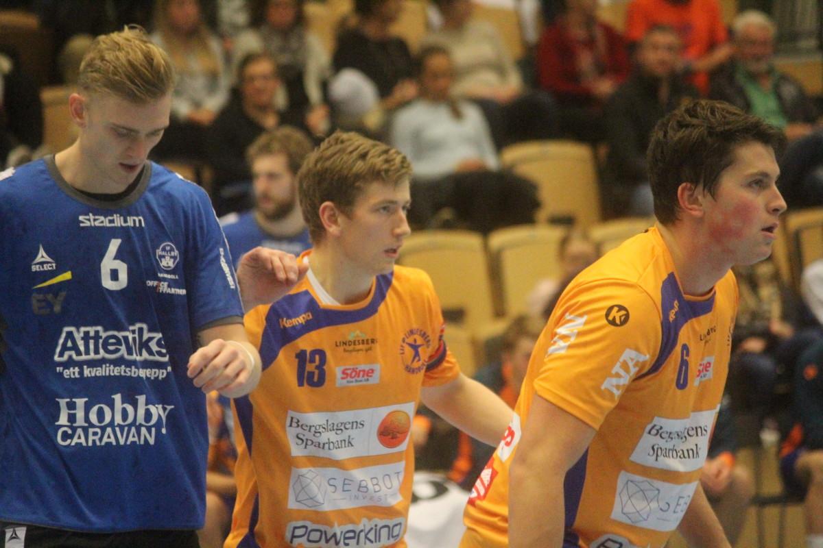Gustaf Ekström och Karlo Seric bossade över LIF-försvaret och hjälpte laget upp på andraplats. FOTO: Hannes Feldin