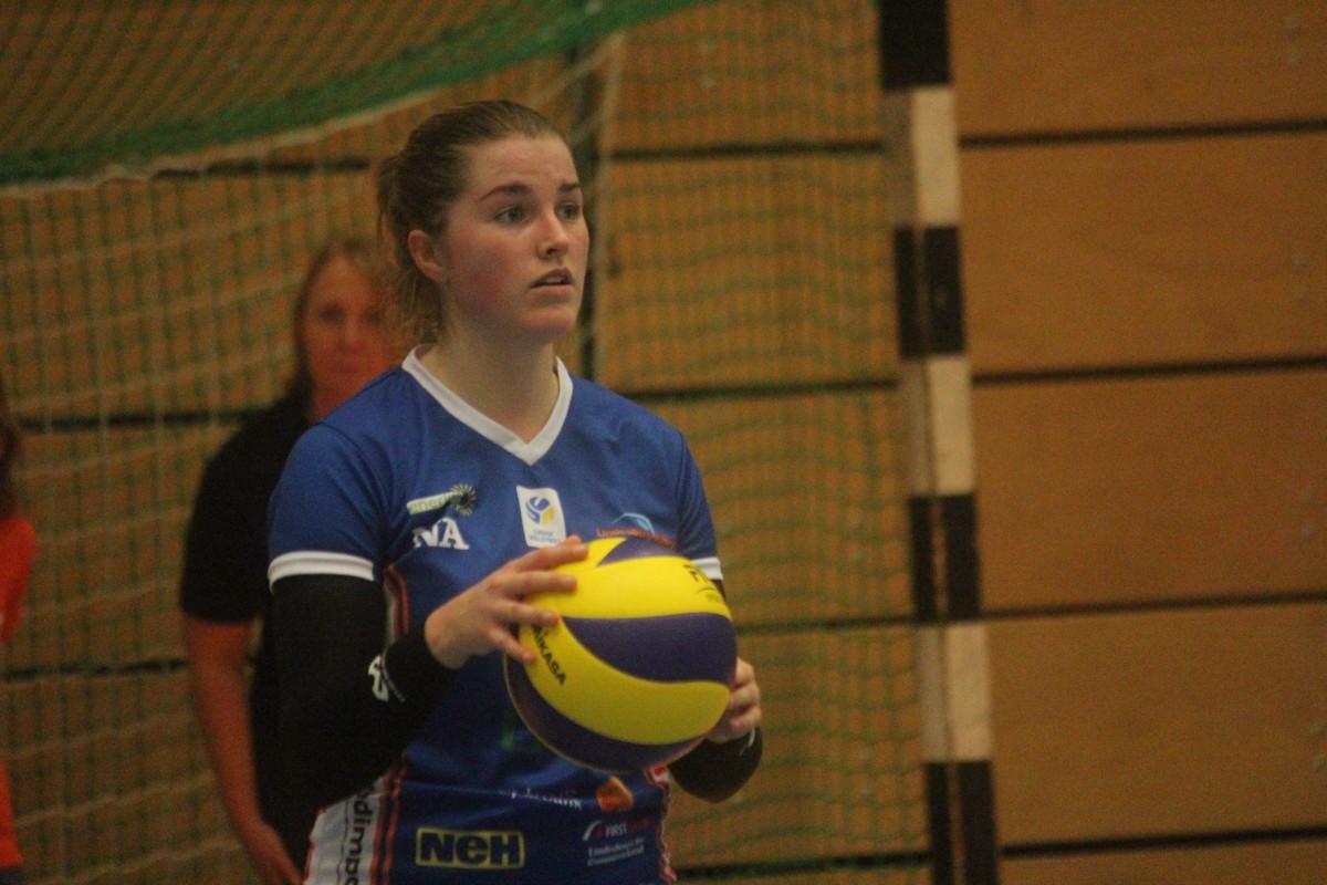 Efter att ha missat onsdagens derby är Rebecca Gustafsson tillbaka i Linde-truppen. ARKIVFOTO: Hannes Feldin