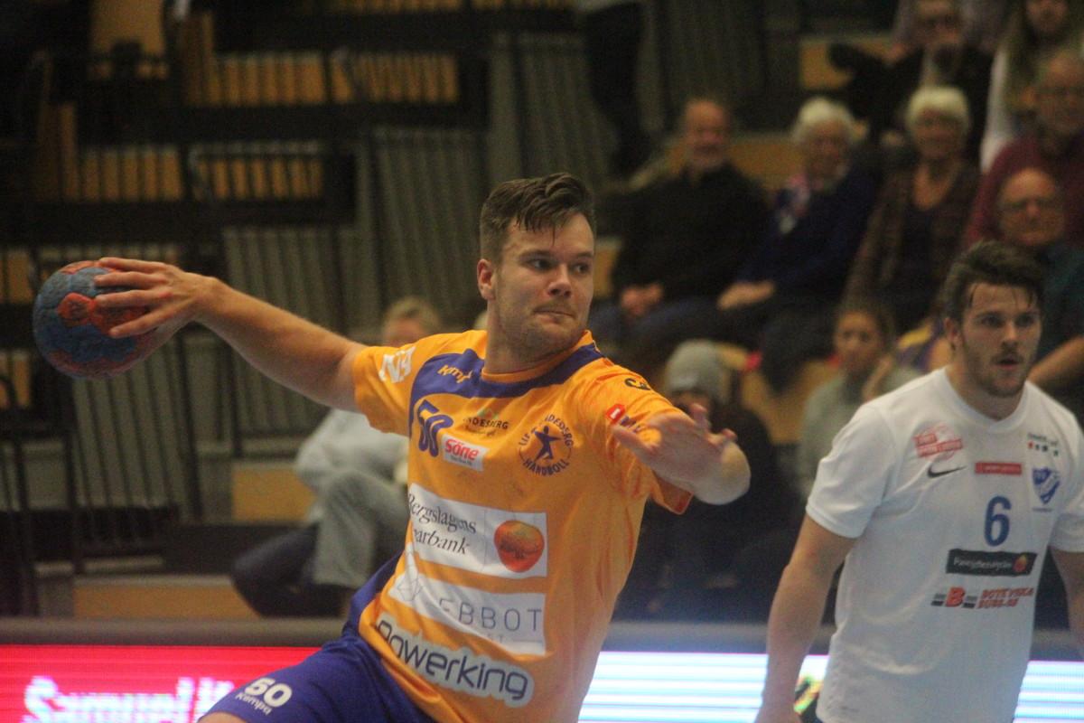 Från straffpunkten skickade Joakim Bååk in kvitteringen för LIF hemma mot Tyresö. ARKIVFOTO: Hannes Feldin