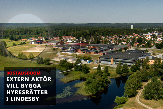 Redan nästa år vill OLM Fastigheter sätta spaden i Lindesby, där man planerar att bygga uppemot 80 hyresrätter. Arkivfoto: Fredrik Stenfelt