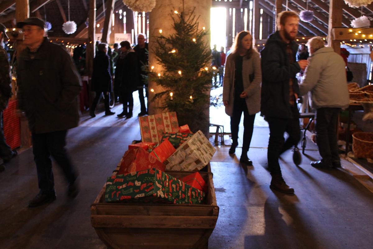 Julstämning på Torphytte Gård. Foto: Camilla Lagerman