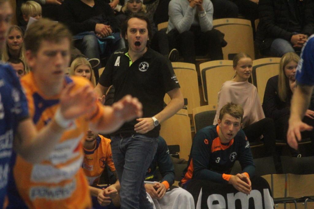 Under sina första månader på LIF-bänken har Tobias Pettersson samlat ihop tolv poäng. ARKIVFOTO: Hannes Feldin