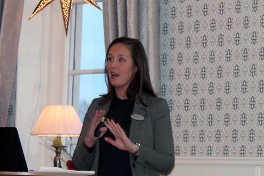 Elisabeth Mörck, skattekonsult från Grant Thornton. Foto: Jennie Larsson