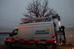 BKT släcker ner och kopplar om. Foto: Fredrik Norman
