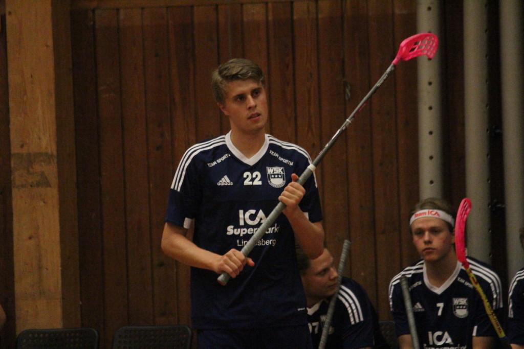 Kan lagkapten Pontus Hellsing visa vägen för WSK i söndagens stekheta toppmöte? ARKIVFOTO: Hannes Feldin