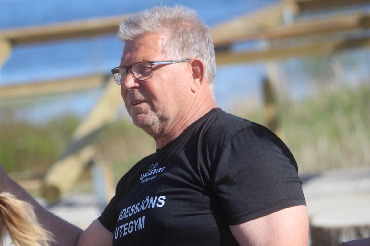 Lång och trogen tjänstgöring ser Björn Nyberg själv som svar på nomineringen. ARKIVFOTO: Hannes Feldin