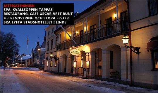 Lindesbergs Stadshotell ingår inte längre i försäljningen av Egeryds fastigheter. Istället väntar en jättesatsning på verksamheten. Arkivfoto: Fredrik Norman
