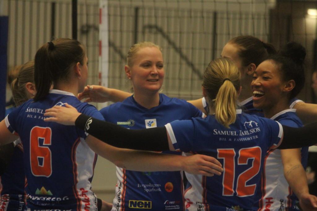 Urladdning hemma i Arenan och nu har Lindesberg Volley fem raka segrar. ARKIVFOTO: Hannes Feldin
