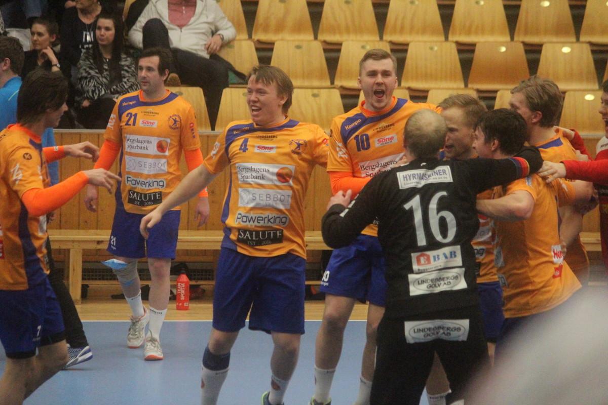 Jepser Nilsson och Joakim Bååk ledde LIF till seger med sju mål var. FOTO: Hannes Feldin