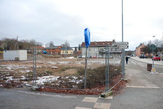 Små lägenheter på max 35 kvm blir lösningen man tvingas ta till för att få bygga på marken där brandstationen stod förr. Foto: Fredrik Norman