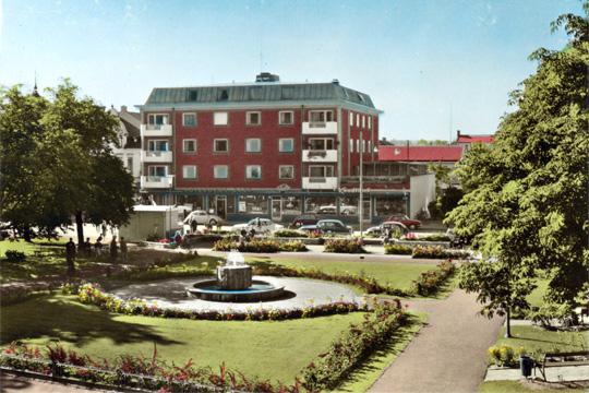 Så här såg Flugparken ut på 60-talet. Nu är frågan hur den skall se ut år 2018. Bilden är hämtad ur Stadsarkivet.