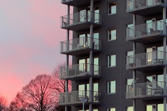 Nya bostäder (delvis) med nya invånare. Arkivfoto: Fredrik Norman