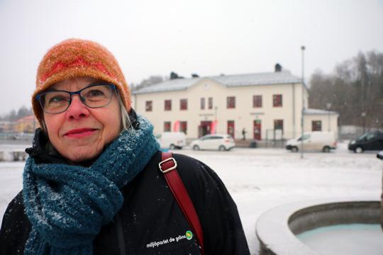 Nya stationshuset är ett bra exempel på att resultatet blir bäst om man tänker till innan man bygger, menar Inger Griberg. Foto: Fredrik Norman