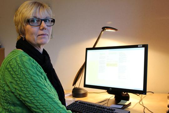 Socialnämnden ordförande, Susanne Karlsson. Arkivfoto: Hans Andersson