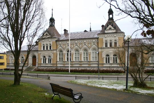 Tingshuset i Lindesberg. Arkivfoto: Fredrik Norman