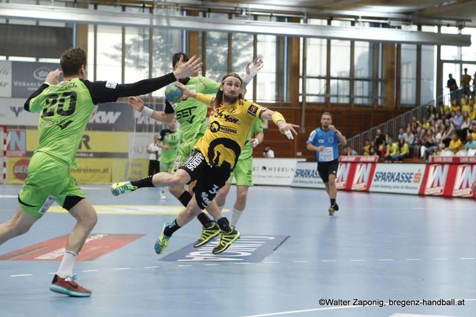 Efter tre säsonger med Bregenz går Tobias Warvnes europeiska äventyr vidare. FOTO: Bregenz Handball