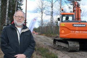 Fiber Ambassadören Bengt Karlsson. Foto: Jennie Larsson