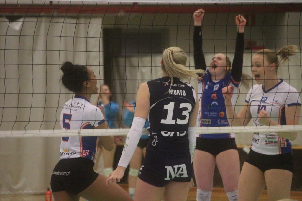 Linde Volley kliver in i slutspelet med en mycket härlig formkurva. ARKIVFOTO: Hannes Feldin