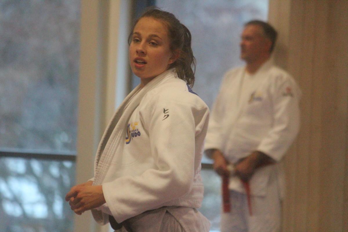 Först vann hon ett brons i Portugal, sedan fick Ida Eriksson pris på hemmaplan. ARKIVFOTO: Hannes Feldin