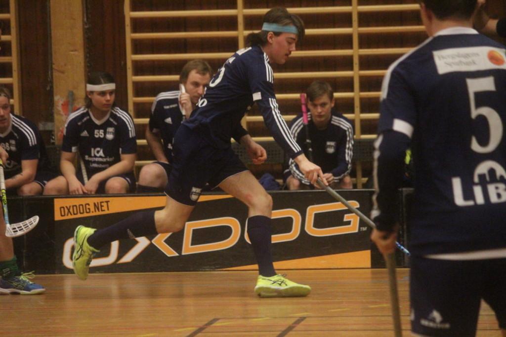 William Svensson och WSK-herrarna jagar vidare mot uppflyttning. ARKIVFOTO: Hannes Feldin