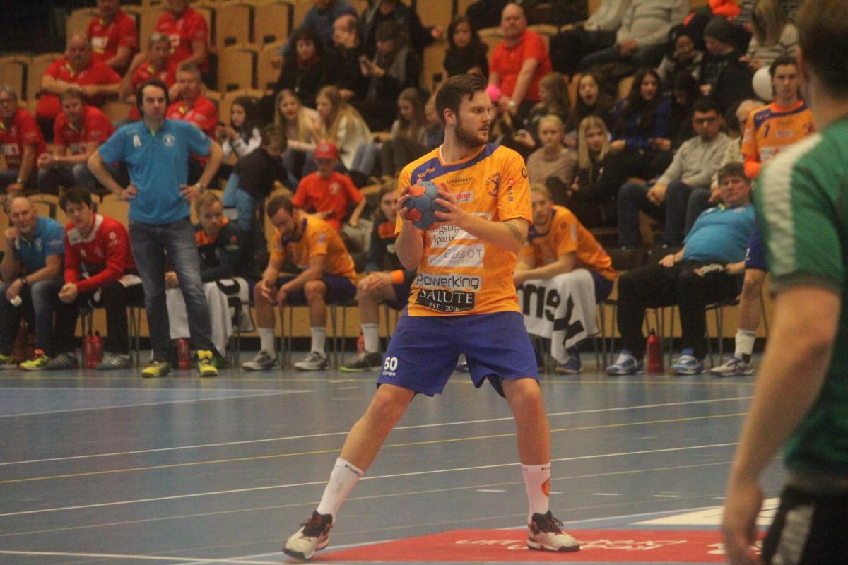 Efter många matcher inför Lindepubliken gör Joakim Bååk ett sista framträdande. FOTO: Hannes Feldin