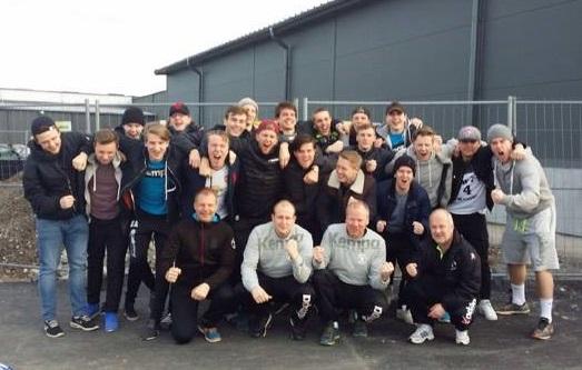 Mellan den 12:e till 14:e maj spelar det här gänget USM-final i Malmö. FOTO: LIF Lindesberg