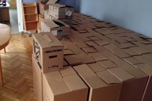 Böckerna som legat gömda på hemlig ort i nästan två år, får nu återigen se dagens ljus. Foto: Fredrik Norman