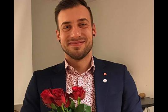 Daniel Andersson är Socialdemokraternas nye ordförande. Foto: Socialdemokraterna i Lindesberg